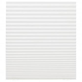IKEA SCHOTTIS Stor plisat, alb, 90x190 cm