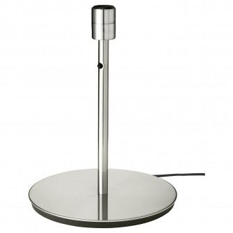 IKEA SKAFTET Baza veioza, nichelat, 38 cm