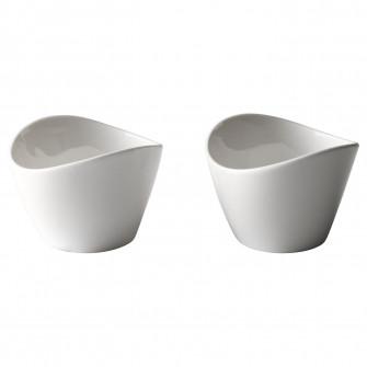 IKEA SKYN Bol, alb, 7 cm