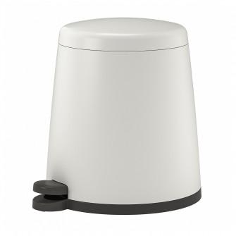 IKEA SNAPP Cos cu pedala, alb, 12 l