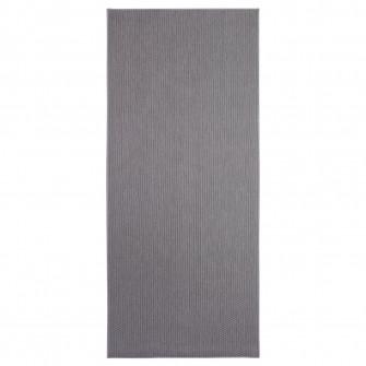 IKEA SOLLINGE Covor, tesatura plata, gri, 65x150 cm
