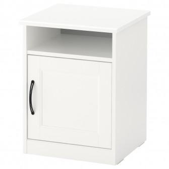 IKEA SONGESAND Noptiera, alb, 42x40 cm