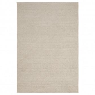 IKEA SPORUP Covor, fir scurt, bej deschis, 133x195 cm