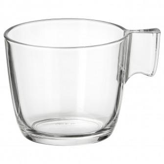 IKEA STELNA Cana, sticla transparenta, 23 cl