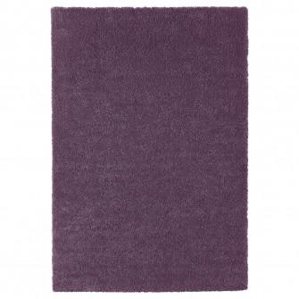 IKEA STOENSE Covor, fir scurt, purpuriu, 133x195 cm