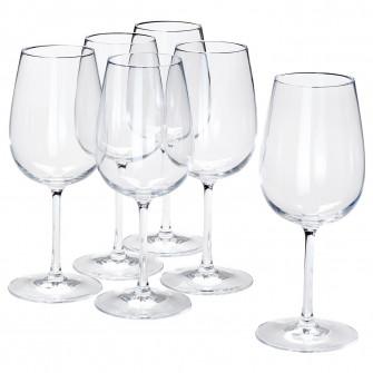 IKEA STORSINT Pahar vin, sticla transparenta, 49 cl