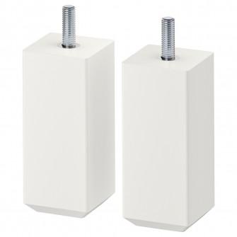 IKEA STUBBARP Picior 2 buc/set, alb