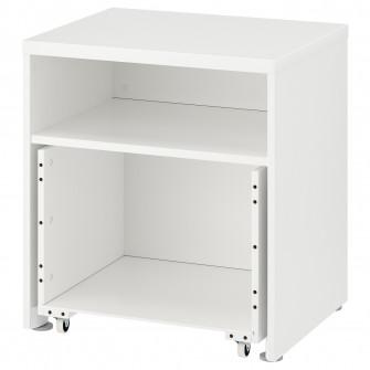 IKEA STUVA Cadru cu cutie si rotile, 60x50x64 cm