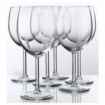 IKEA SVALKA Pahar vin, sticla transparenta, 30 cl