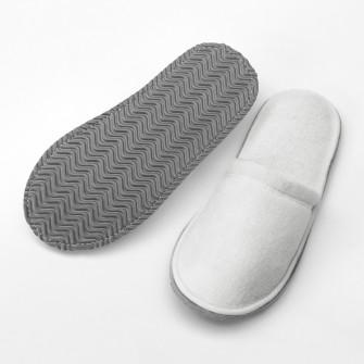 IKEA TASJON Papuci, alb, S/M