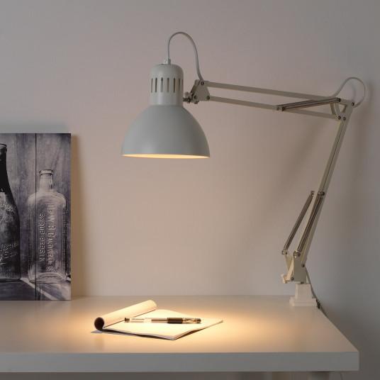 IKEA TERTIAL Veioza birou, alb