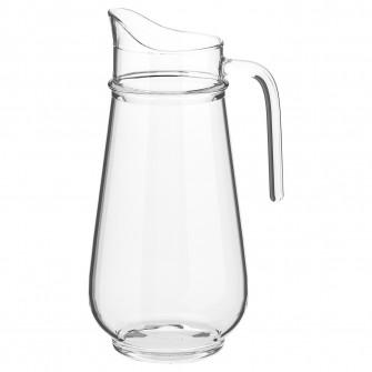 IKEA TILLBRINGARE Carafa, sticla transparenta, 1.7 l
