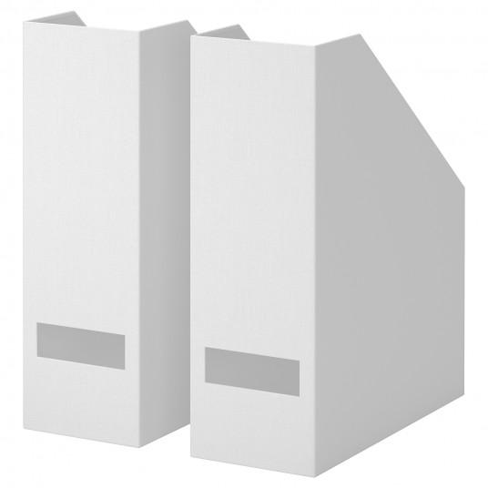 IKEA TJENA Biblioraft, alb