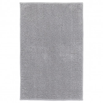 IKEA TOFTBO Covoras baie, gri/alb melanj, 50x80 cm
