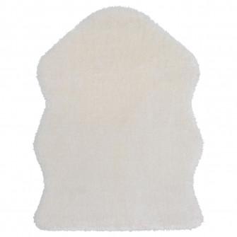 IKEA TOFTLUND Covor, alb, 55x85 cm
