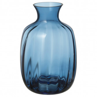 IKEA TONSATTA Vaza, albastru, 21 cm