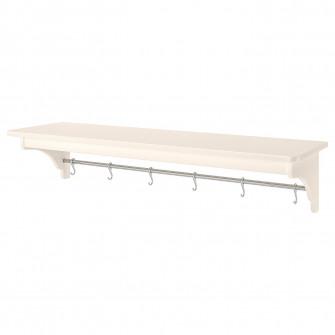 IKEA TORNVIKEN Etajera, alb