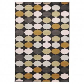 IKEA TORRILD Covor, fir scurt, multicolor, 133x195 cm