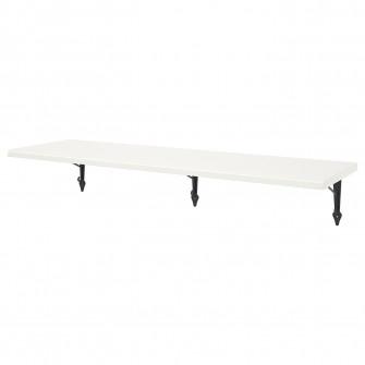 IKEA TRANHULT / KROKSHULT Polita - plop vopsit alb