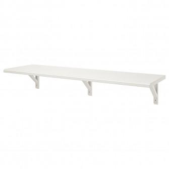IKEA TRANHULT / SANDSHULT Polita - plop vopsit alb
