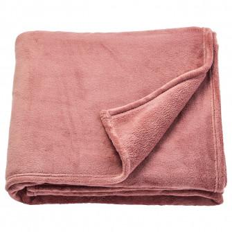 IKEA TRATTVIVA Cuvertura, roz inchis, 150x250 cm