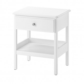 IKEA TYSSEDAL Noptiera, alb, 51x40 cm