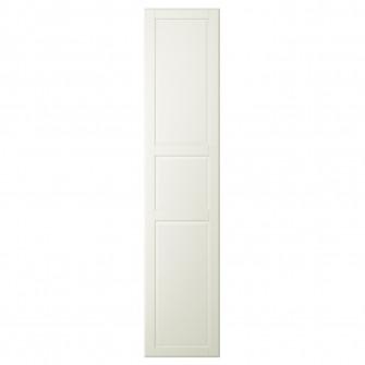 IKEA TYSSEDAL Usa cu balamale, alb, 50x229 cm