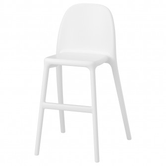 IKEA URBAN Scaun junior, alb