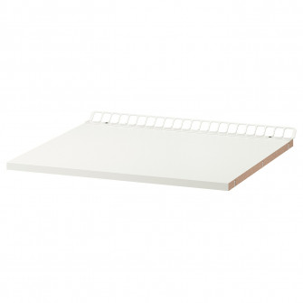 IKEA UTRUSTA Polita fixa cu ventilatie, alb, 60x60 cm