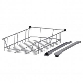 IKEA UTRUSTA CoT metalic, 40 cm