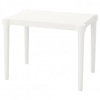 IKEA UTTER Masa pentru copii, interior/exterior, alb