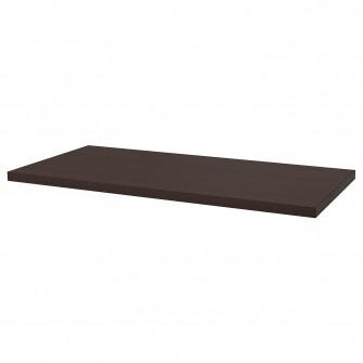 IKEA VASTANBY Blat, maro inchis, 170x78x5 cm