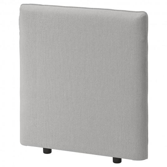 IKEA VALLENTUNA Spatar, Orrsta gri, 80x80 cm