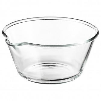 IKEA VARDAGEN Bol, sticla transparenta, 26 cm