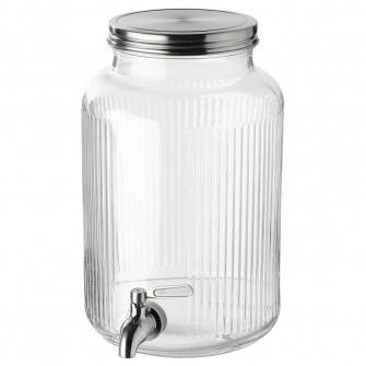 IKEA VARDAGEN Borcan cu robinet, 5.0 l