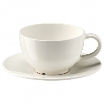 IKEA VARDAGEN ceasca ceai cu farfurie