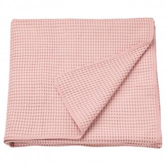 IKEA VARELD Cuvertura, roz deschis, 150x250 cm