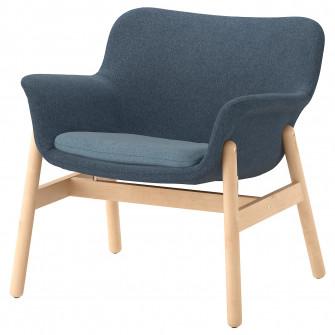 IKEA VEDBO Fotoliu, Gunnared albastru