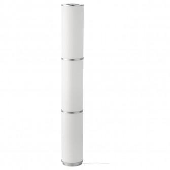 IKEA VIDJA Lampadar, alb, 138 cm