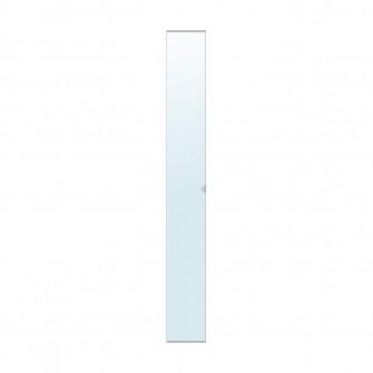 IKEA VIKEDAL Usa cu balamale, ogl, 25x195 cm