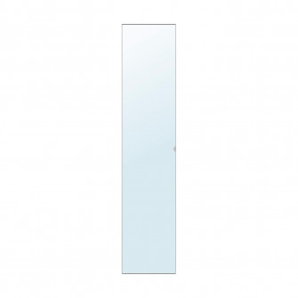 IKEA VIKEDAL Usa cu balamale, ogl, 50x229 cm