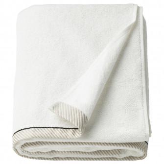 IKEA VIKFJARD Prosop baie, alb, 100x150 cm