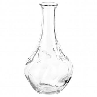IKEA VILJESTARK Vaza, sticla transparenta, 17 cm