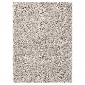 IKEA VINDUM Covor, fir lung, alb, 133x180 cm