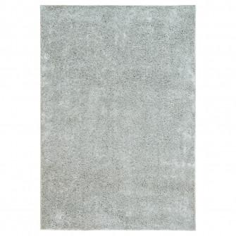 IKEA VONGE Covor, fir lung, gri, 133x195 cm