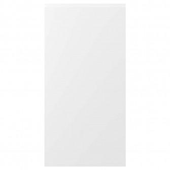 IKEA VOXTORP Usa, alb mat alb, 60x120 cm