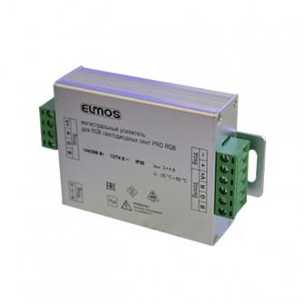 Amplificator led RGB Elmos 144 W 3-4A 12 V