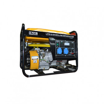 Generator HAGEL 6500 CL AC 220V 5 kW benzina