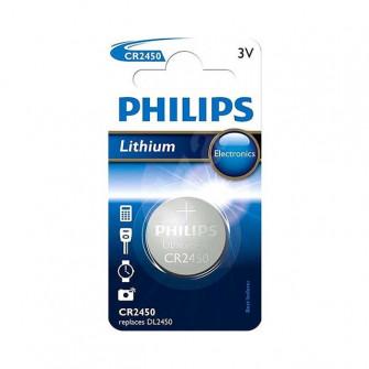 Pile electrice Philips CR2450 litium