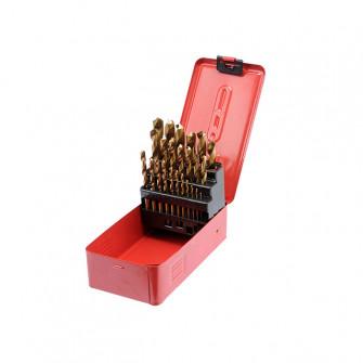 Set burghie pentru metal Sthor STH22340 1-13 mm